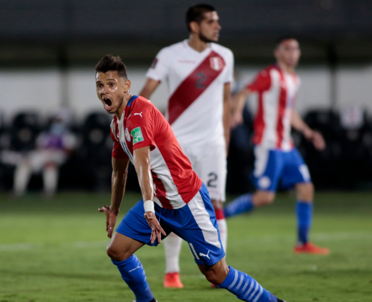 Paraguay y Perú, igualaron.