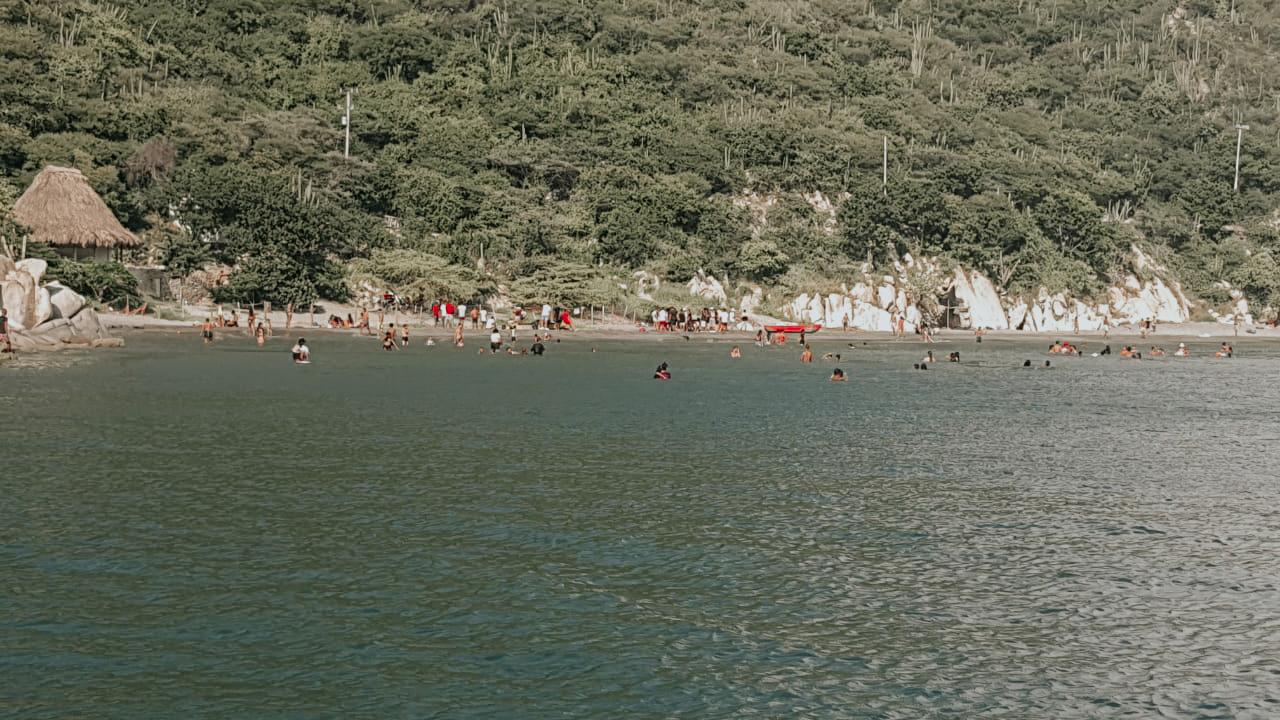 Playa Cabo Tortuga.