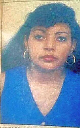 Lesbia Polo, estudiante que, en 1998, fue secuestrada y posteriormente asesinada por paramilitares.