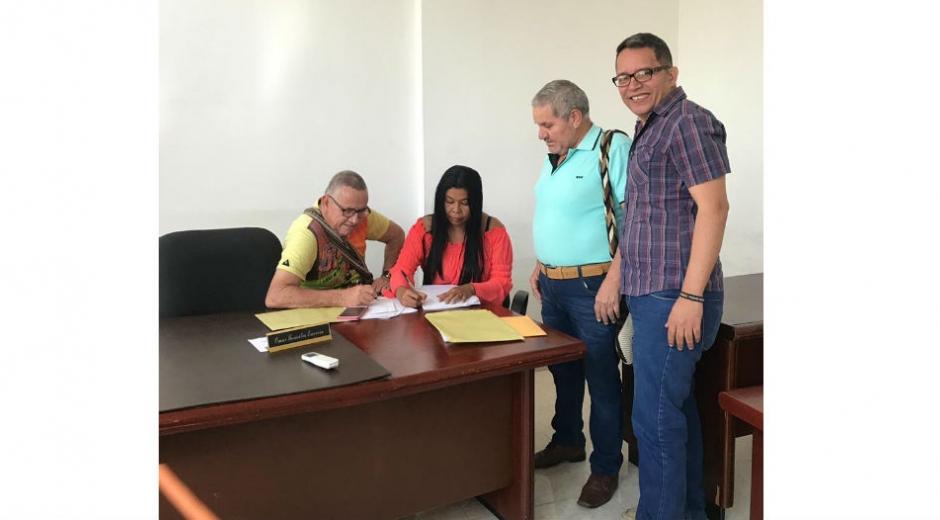Ropero actualmente es secretario de Desarrollo Social de la alcaldía de Aracataca.