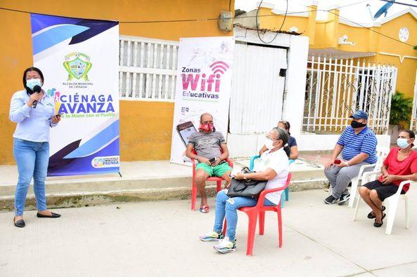 Zona Wifi Educativa benefician a la I.E La Alianza para El Progreso.