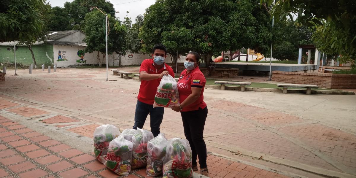 La iniciativa fue coordinada a través de la Vicerrectoría de Extensión y Proyección Social, la Dirección de Bienestar Universitaria y la Dirección de Desarrollo Estudiantil.