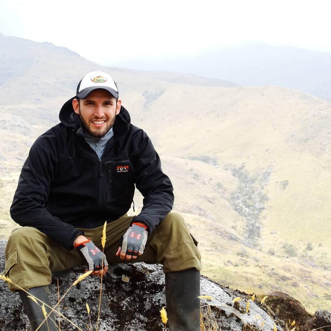 Luis Alberto Rueda Solano, miembro del Grupo de Investigación en Biodiversidad y Ecología Aplicada.