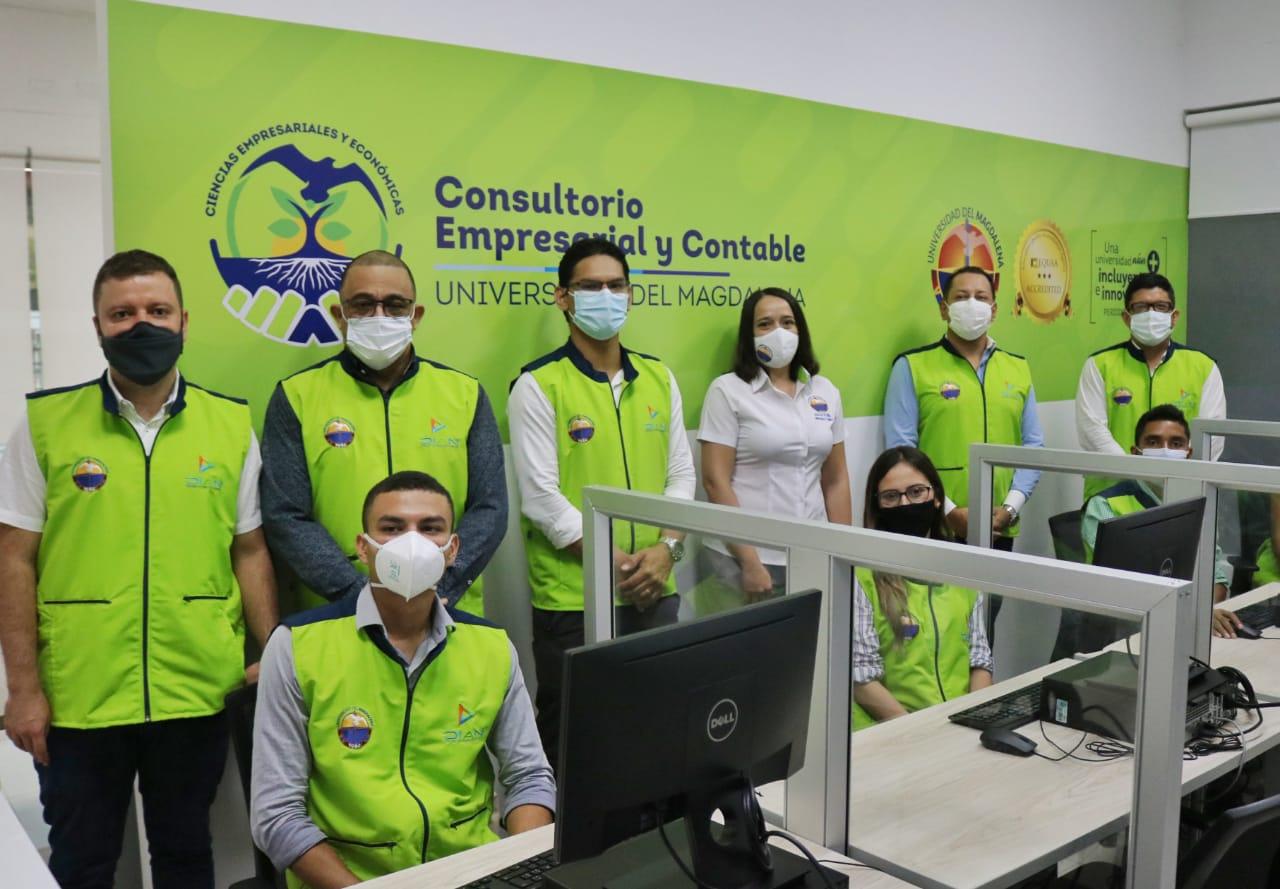 El Consultorio Empresarial y Contable que fue inaugurado en la virtualidad desde el mes de mayo del año en curso, hasta el momento ha presentado cerca de 150 asesorías brindadas por los estudiantes.