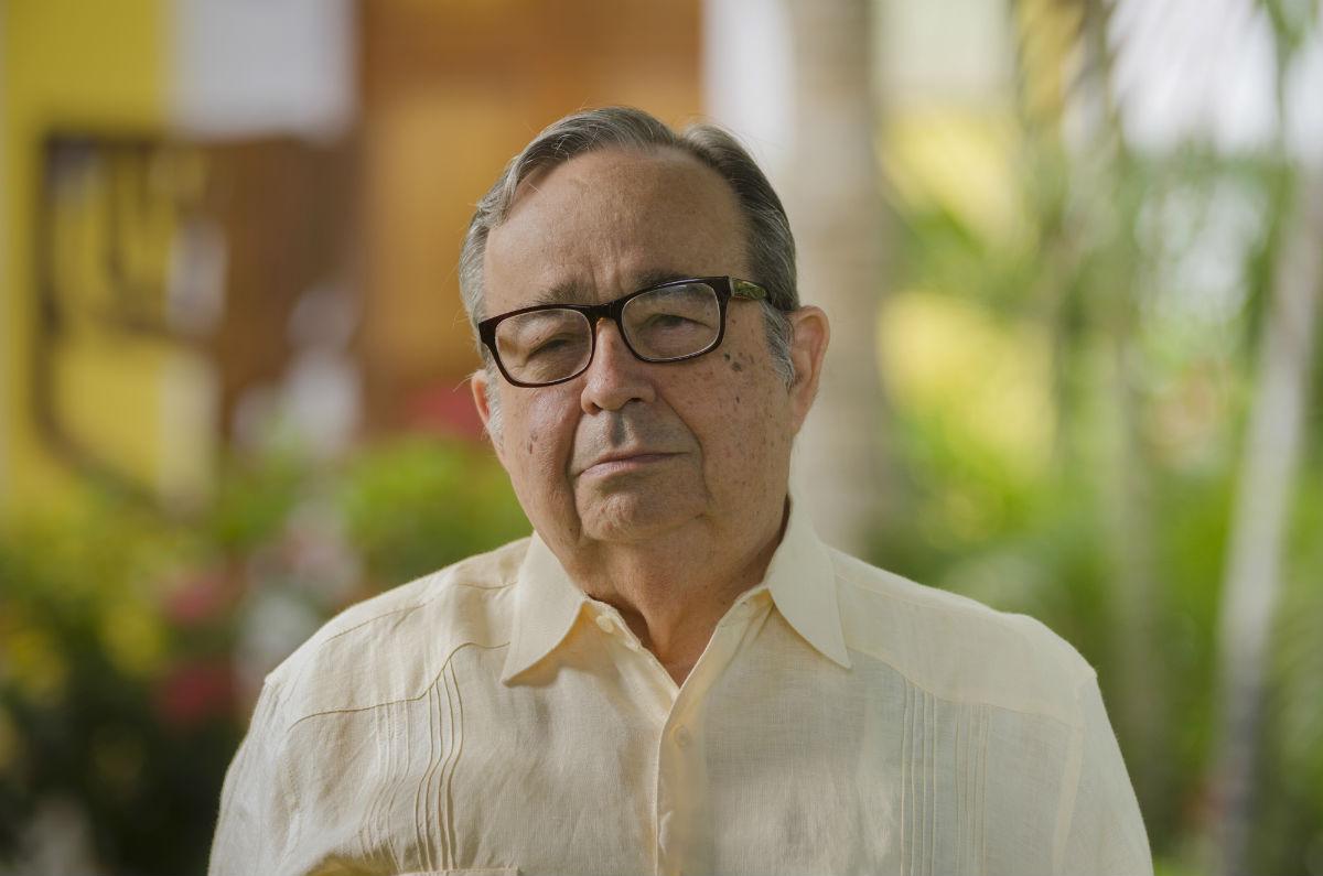 Dr Alfredo Méndez Alzamora, Rector Seccional de la Sergio Arboleda, sede Santa Marta.