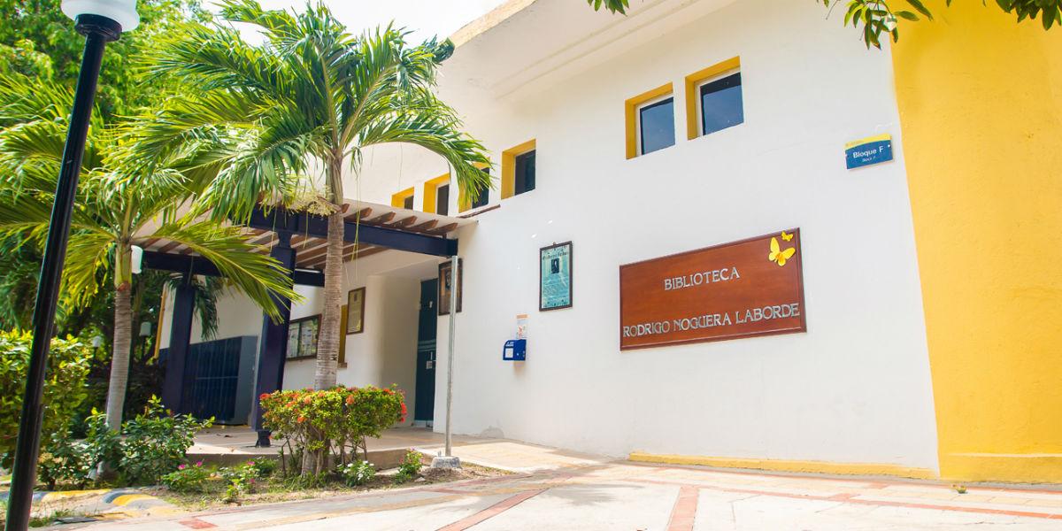 Biblioteca Rodrigo Noguera Laborde, en Santa Marta.