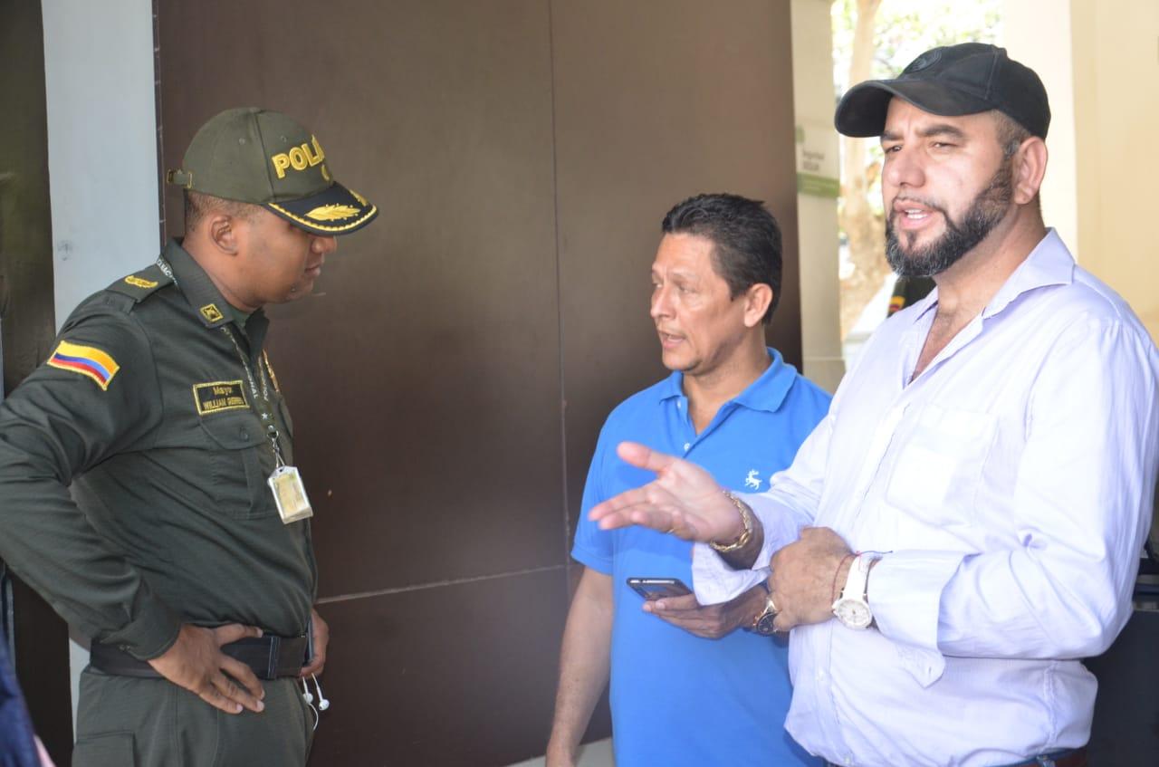 Alias 'Pinocho' también estuvo en las instalaciones de la Sijín.
