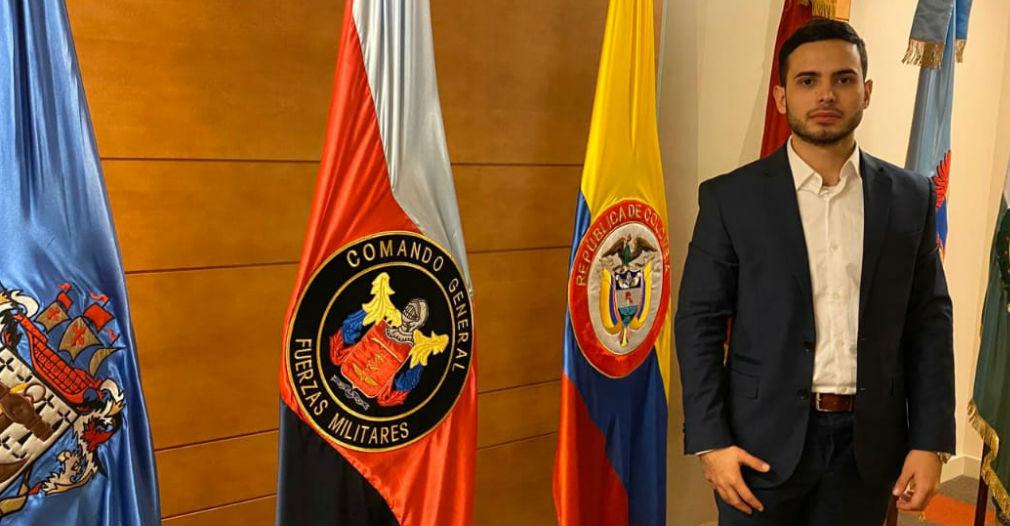 José Andrés Orozco Valencia, estudiante del programa de Marketing y Negocios Internacionales