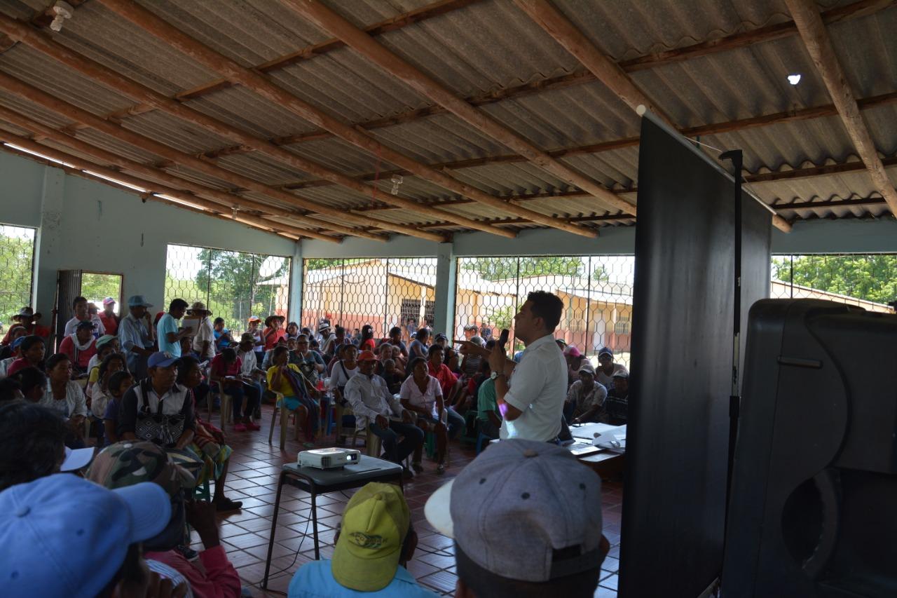 Edilberto Riatiga Corredor planteó que las autoridades deben sentarse con la población Ette Ennaka Chimila y definir las medidas de impacto, mitigación y compensación para que el proyecto pueda ejecutarse sin violar los derechos.
