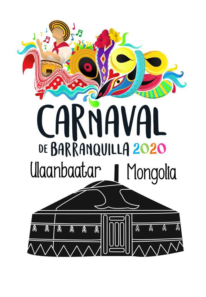 Carnaval de Barranquilla en Mongolia