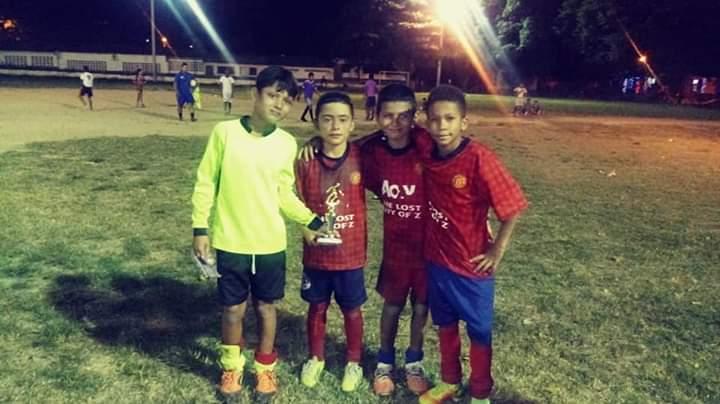 El pequeño ha demostrado sus cualidades para jugar al fútbol en cada torneo que participa.