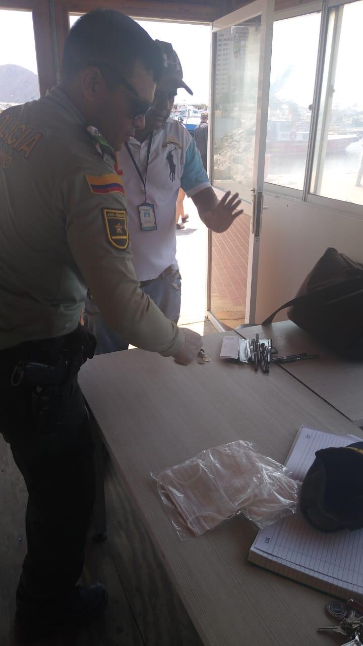 La persona grabada fue detenida por la Policía.