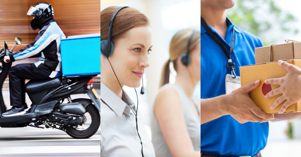 Centros de comercio electrónico, domicilios y mensajería deberán ser estrictos con los protocolos