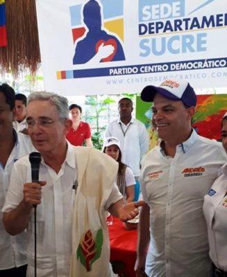 Álvaro Uribe apoyó en campaña a quien hoy es el alcalde de Sincelejo, en interrogatorio por malos manejos del COVID-19.