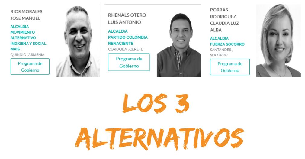 De 10 alcaldes a los que les imputaron cargos, solo tres eran alternativos o no tradicionales.