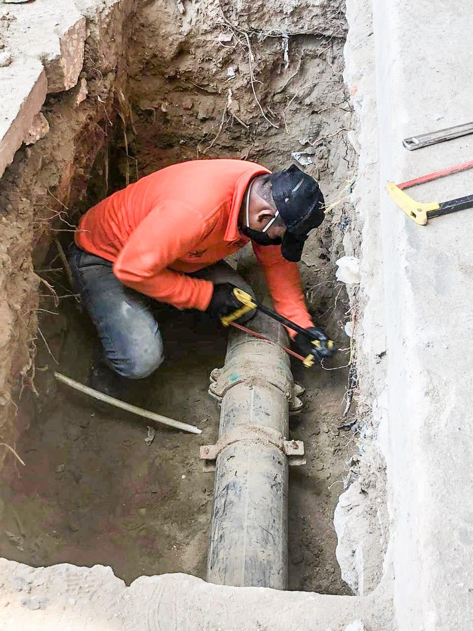 La empresa continúa haciendo los trabajos de desconexión y las pruebas previas al sistema.