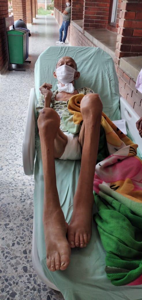 Condiciones del recluso que fue dado de alta en el Hospital Julio Méndez Barreneche.