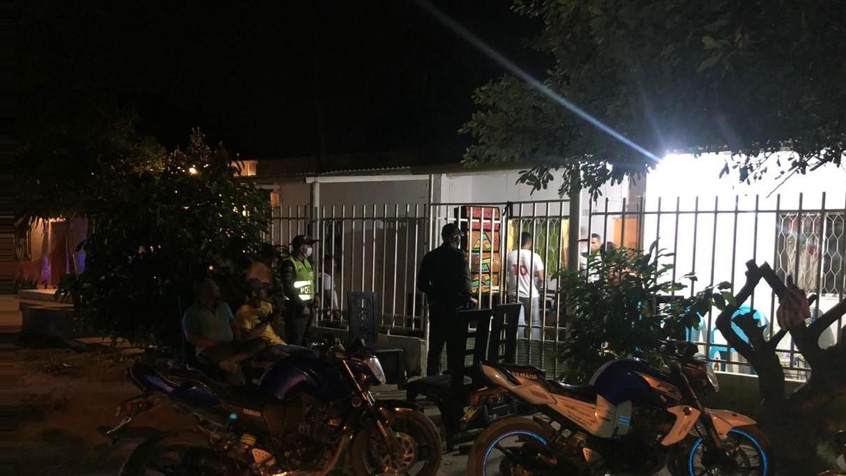 Intervención de fiestas en municipios.