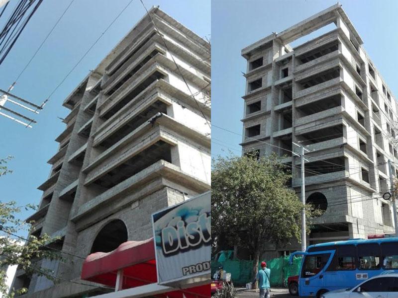 Edificio de la Esap en Santa Marta.