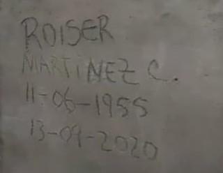 Los familiares se vieron obligados a desenterrar al señor Roiser.