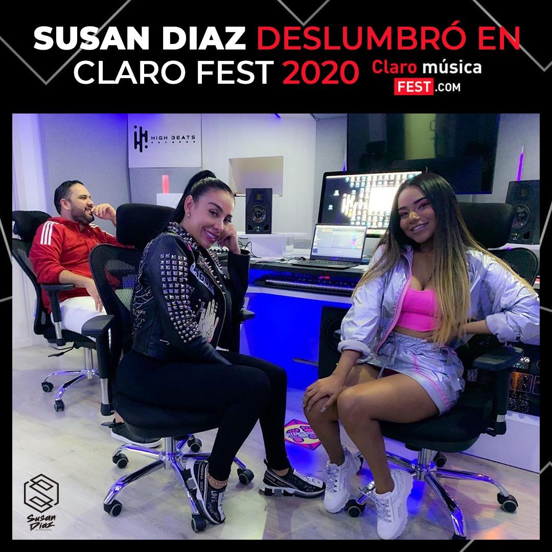 Susan Díaz y Marcela Reyes