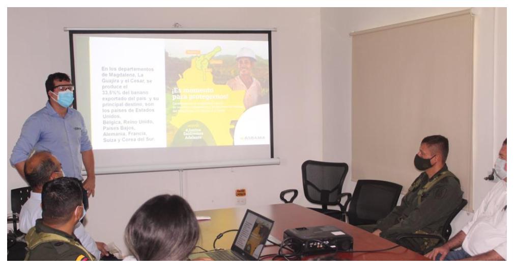 José Francisco Zúñiga entregó detalles de esa lucha del sector bananero contra el narcotráfico.