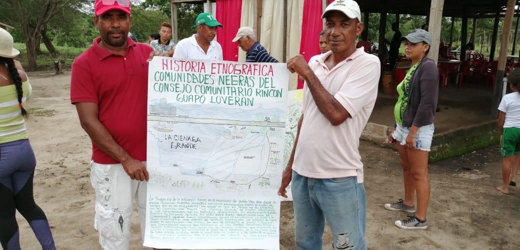 Rincón Guapo Loveran es un palenque fundado por africanos cimarrones.