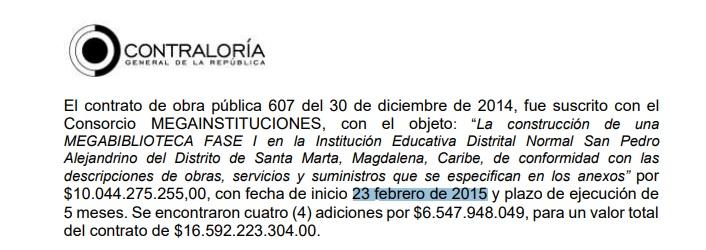 El 23 de febrero de 2015 -hace 6 años- se inició la obra de la megabiblioteca.