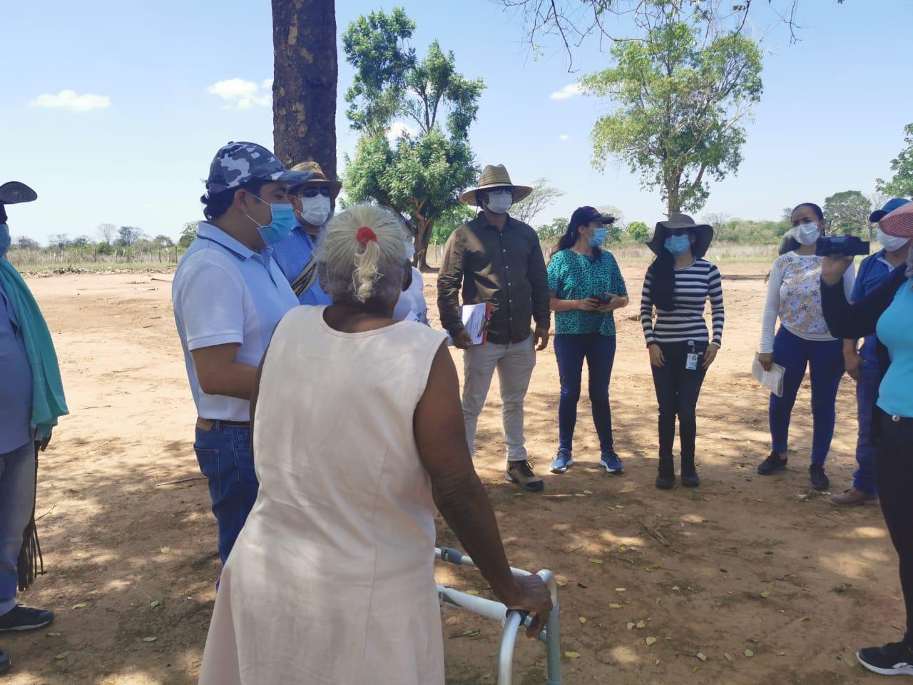 Unidad de Restitución de Tierras entrega a mujer rural predio El Carrizal del caso Oceanía.