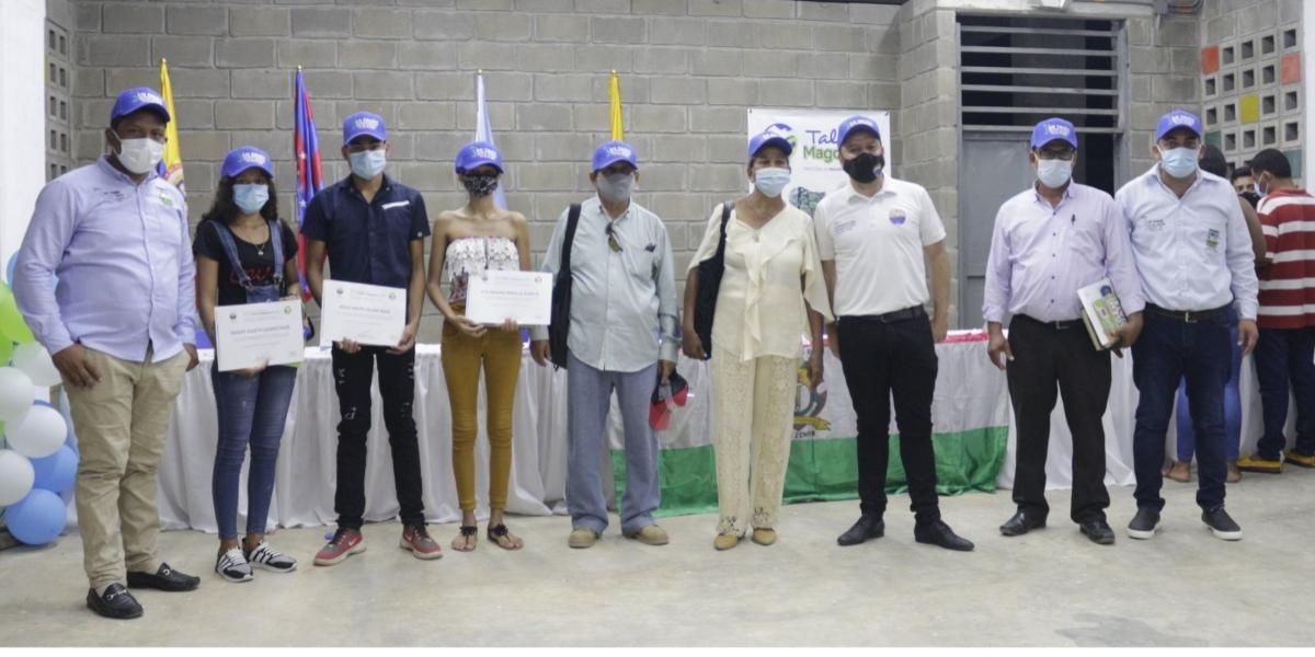 La Universidad del Magdalena  entregó las becas al Programa Talento Magdalena.