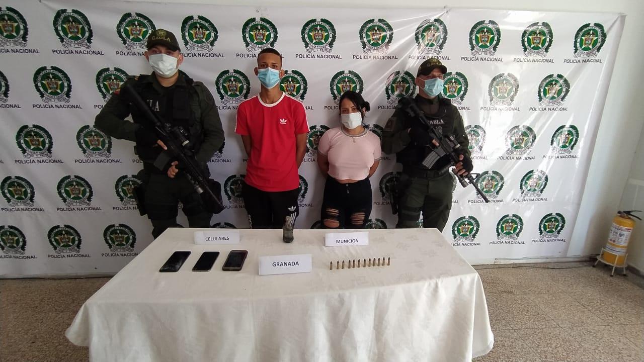 Nilanyer Alberto Castillo Mireya, alias 'El bemba', y Yoselin Carolina Ysea Roque, alias 'La Chiqui'.
