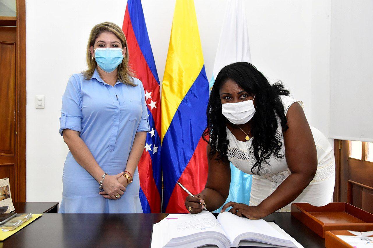 Santa Marta cuenta con una Secretaría de la Mujer, recientemente creada. La jefa de esta cartera es Yunia Palacios.
