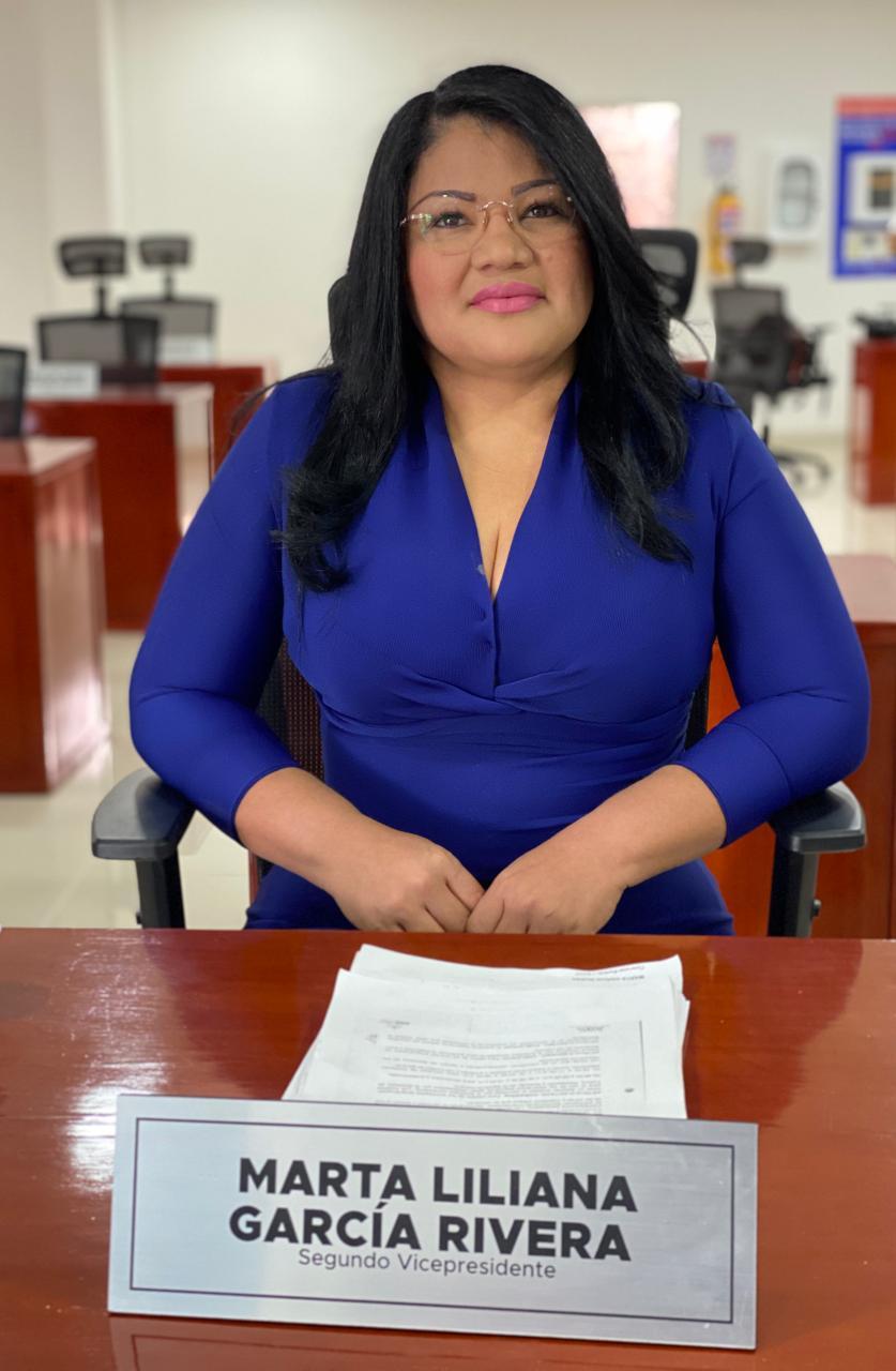 Concejal Martha García.
