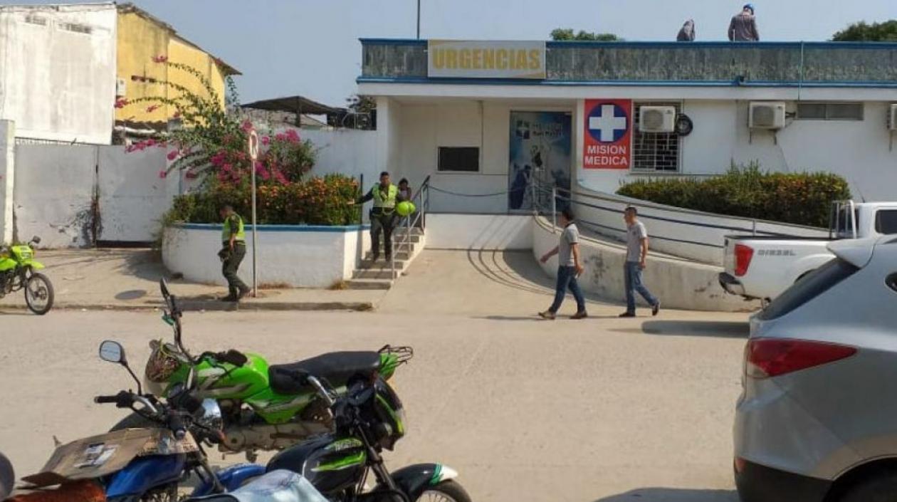 El hecho irregular se presentó en el hospital San Rafael.