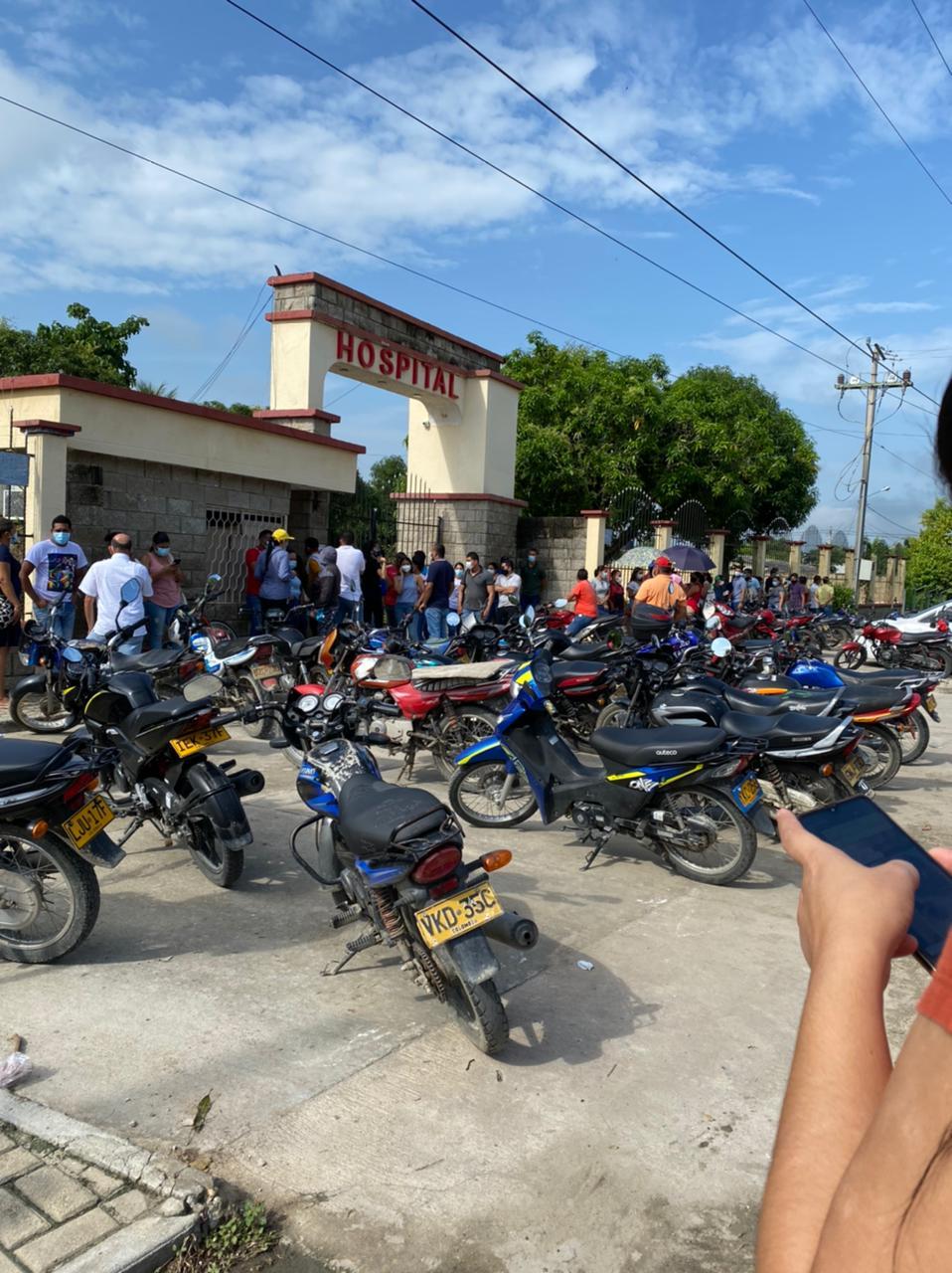 En Aracataca las dosis se terminaron muy temprano.