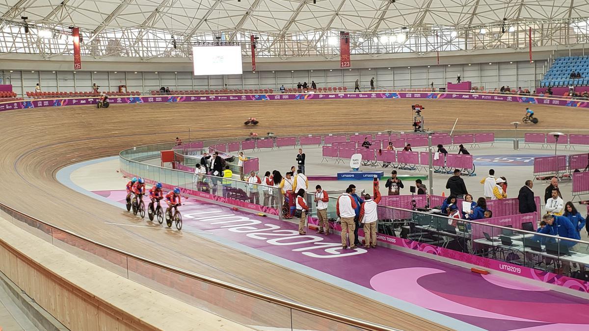 Velódromo panamericano de Lima.