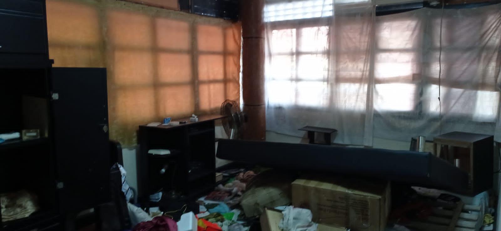 Así dejaron el apartamento de Aldemar.