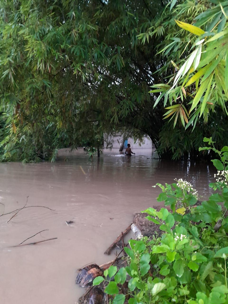 Así quedaron algunos municipios luego de las lluvias.