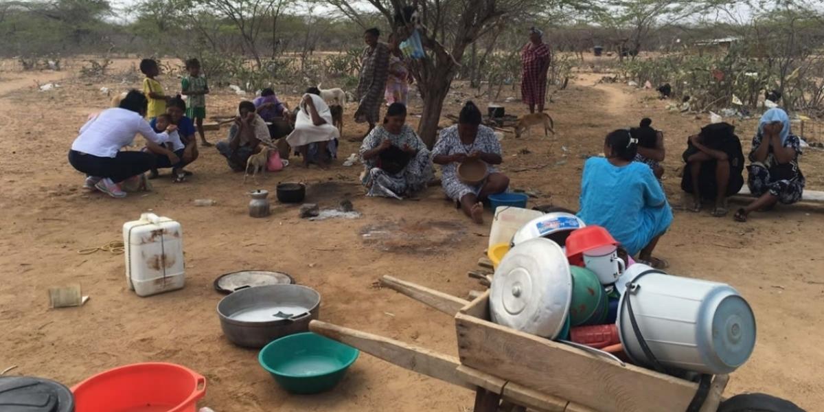 La desnutrición y la tuberculosis afectan a los indígenas de La Guajira.