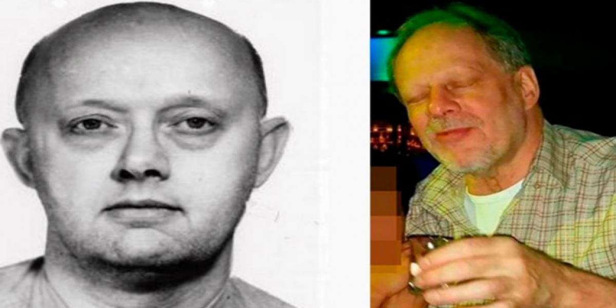 A la izquierda, Patrick Benjamin Paddock, padre del asesino que mató a 50 personas e hirió a 400