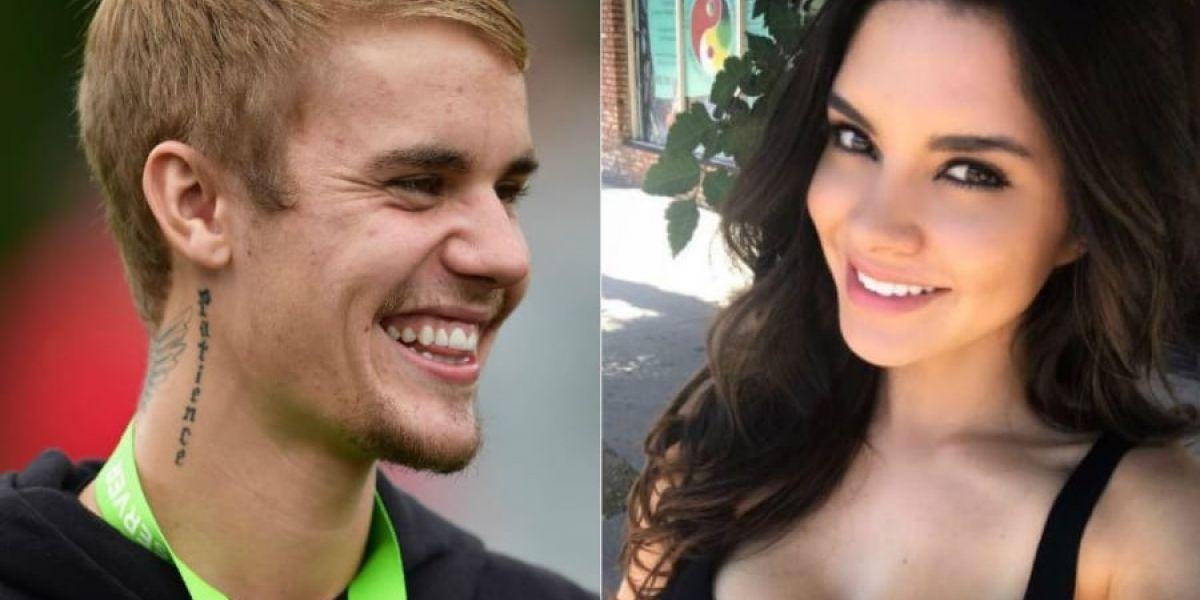 Una paisa le roba el corazón a Justin Bieber
