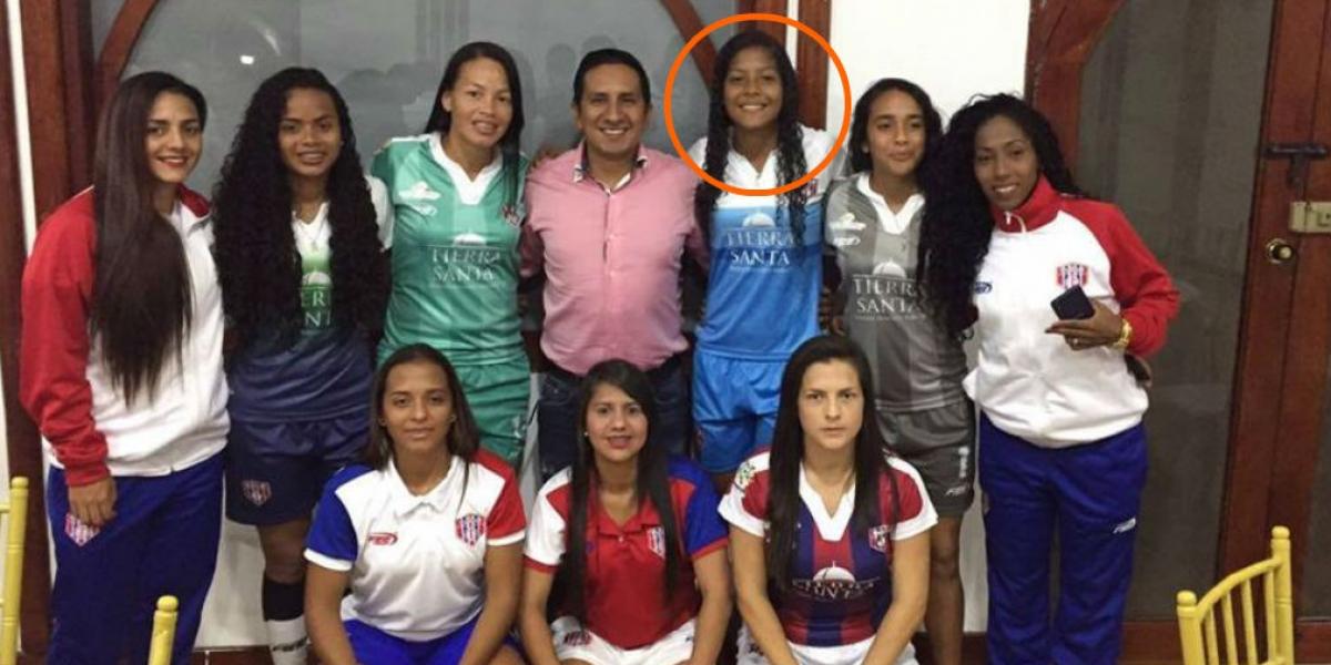 Andrea Pérez, hará parte de la selección Colombia femenina sub 17