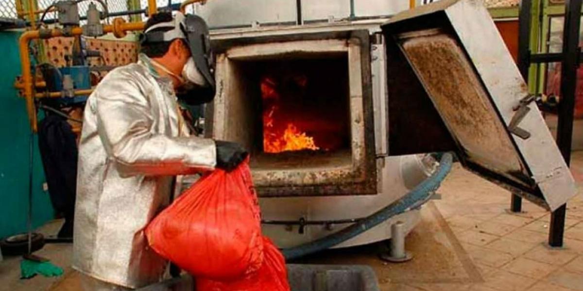 Las empresas que producen residuos peligrosos deben estar registradas.