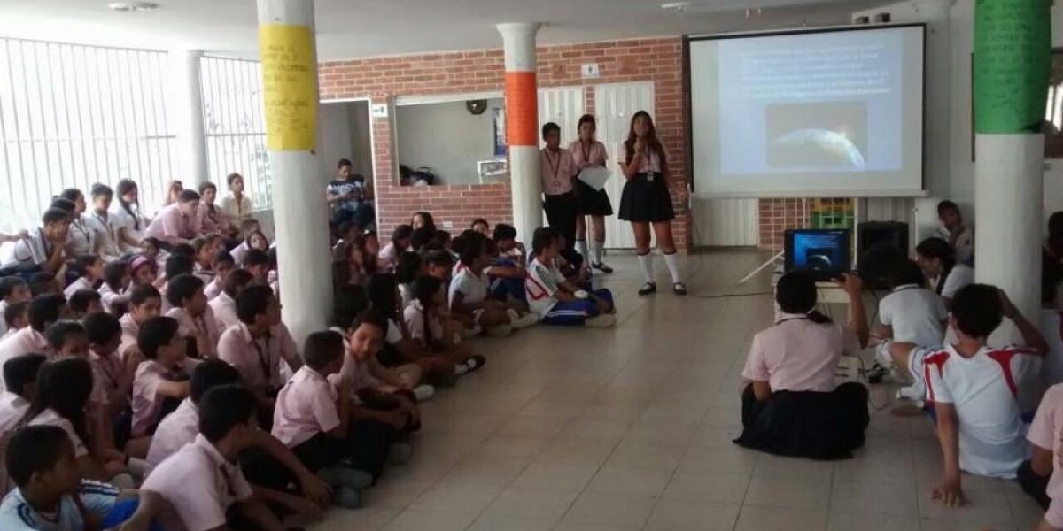 Lanzamiento del XVII Simposium Literario Estudiantil Ciudad de Santa Marta.