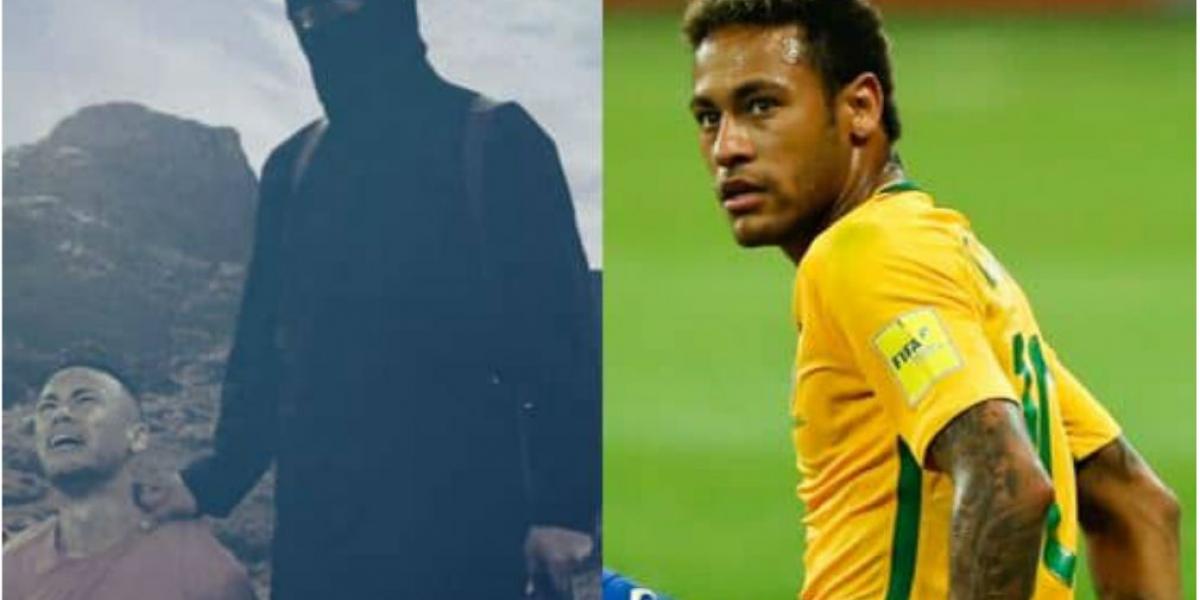 Neymar, jugador brasilero.