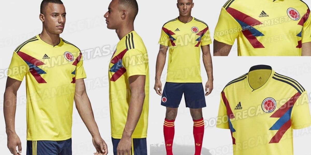 Este sería el uniforme que utilizaría la Selección Colombia 67aaff7b9b2f7