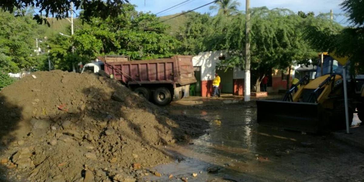 Han removido 96 toneladas de sedimento.