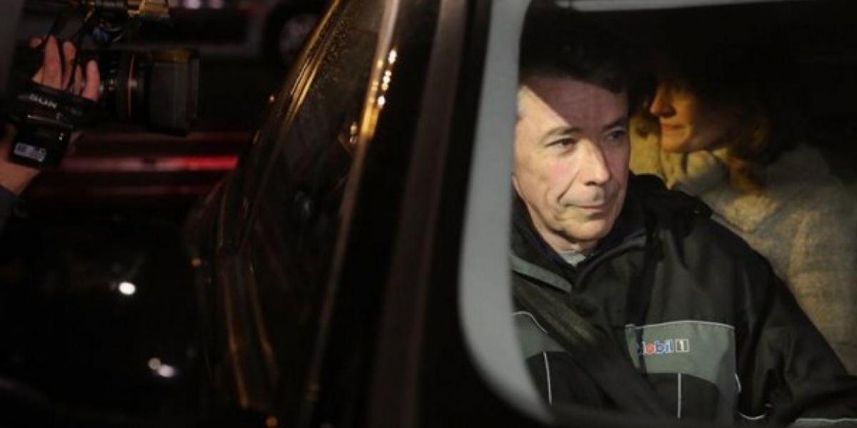 El expresidente de la Comunidad de Madrid Ignacio González a su salida de la madrileña carcel de Soto del Real. González ingresó en la prisión de Soto del Real el pasado 21 de abril.