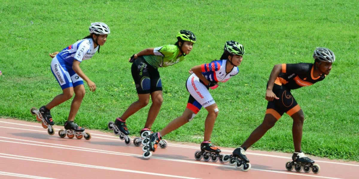 Deportistas de diferentes disciplinas realizaron las pruebas.