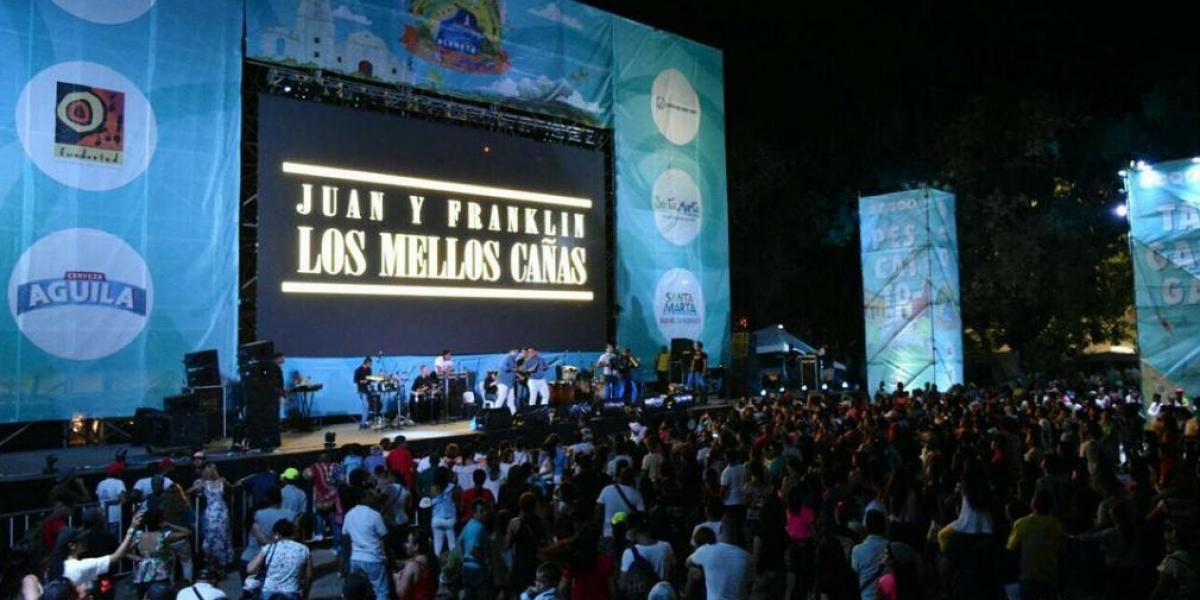 Juan y Franklin 'Los Mellos' Cañas durante su presentación el pasado lunes.